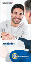 Mediationsflyer